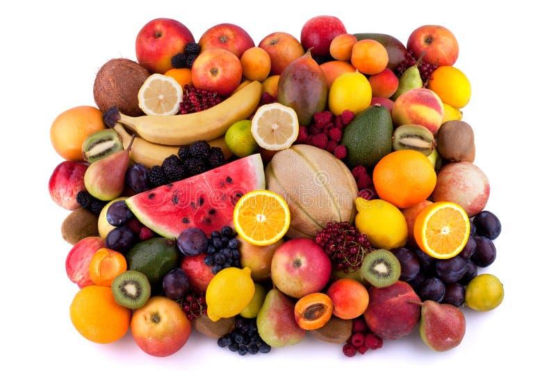 Frutos e bagas foto de stock