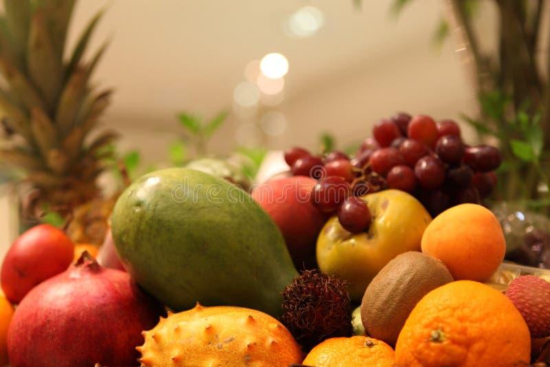 Frutos exóticos imagens de stock