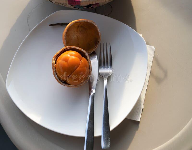 Frutos exóticos em África fotografia de stock