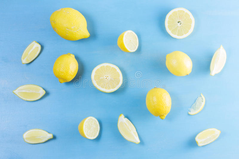 Frutos frescos do limão fotos de stock royalty free