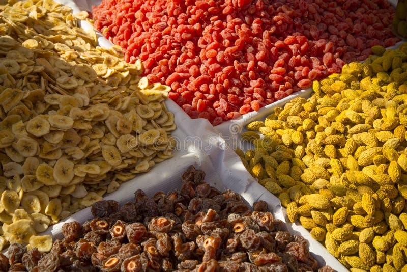 Frutos secados de Ásia fotos de stock royalty free