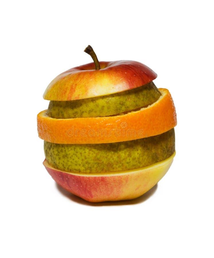 Frutta affettata immagini stock