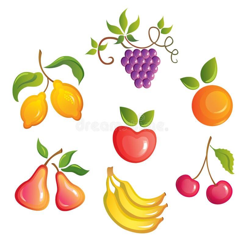 Frutta appetitosa. royalty illustrazione gratis