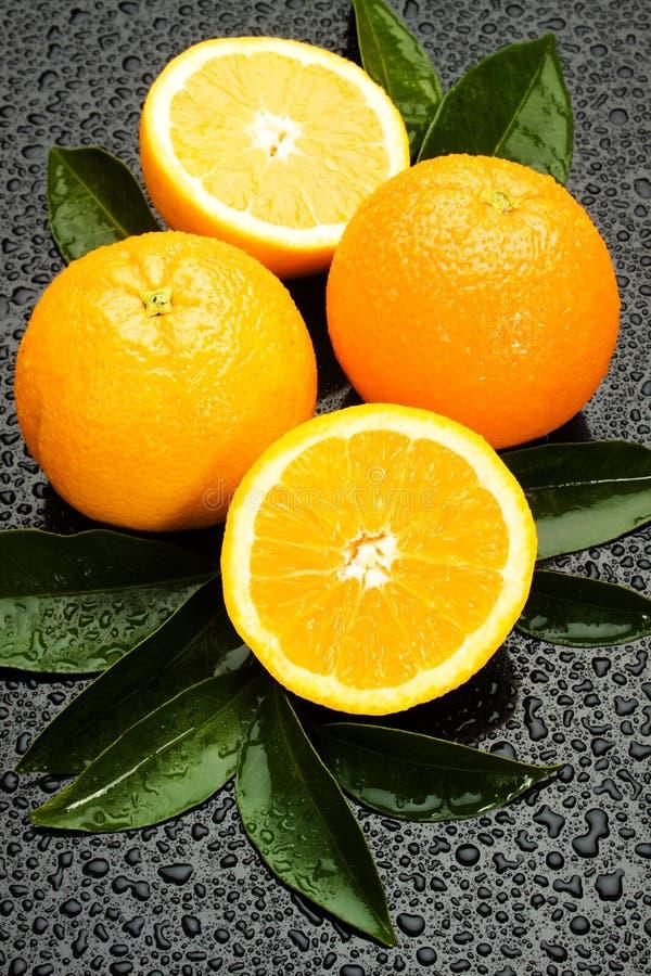 Frutta arancione fresca fotografie stock