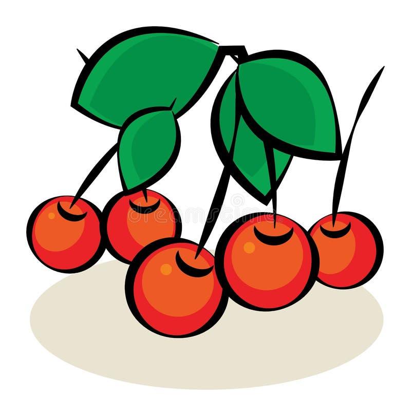 Frutta, ciliegia royalty illustrazione gratis