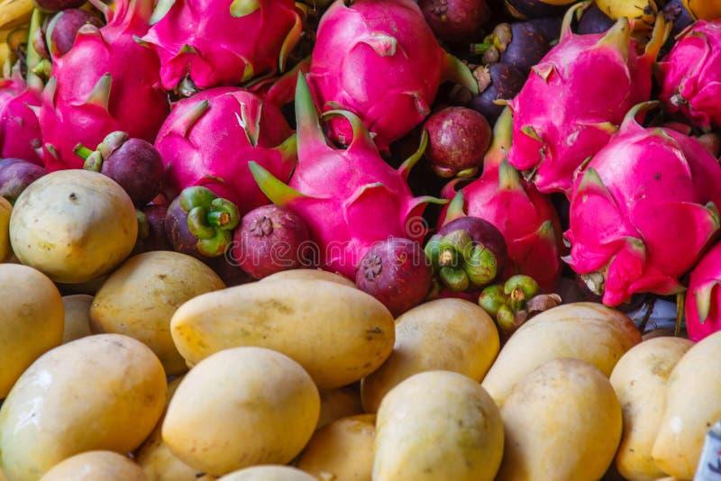 Frutta del drago, pitaya fotografia stock