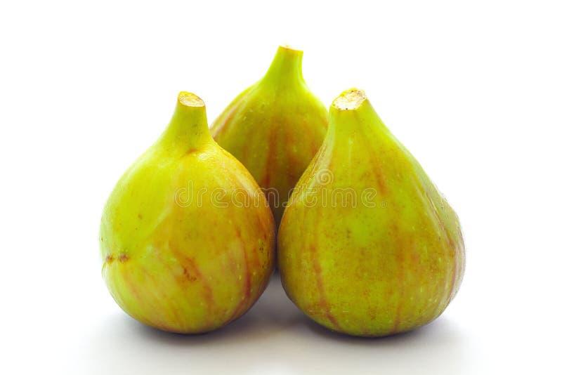 Frutta del fico su priorità bassa bianca fotografie stock