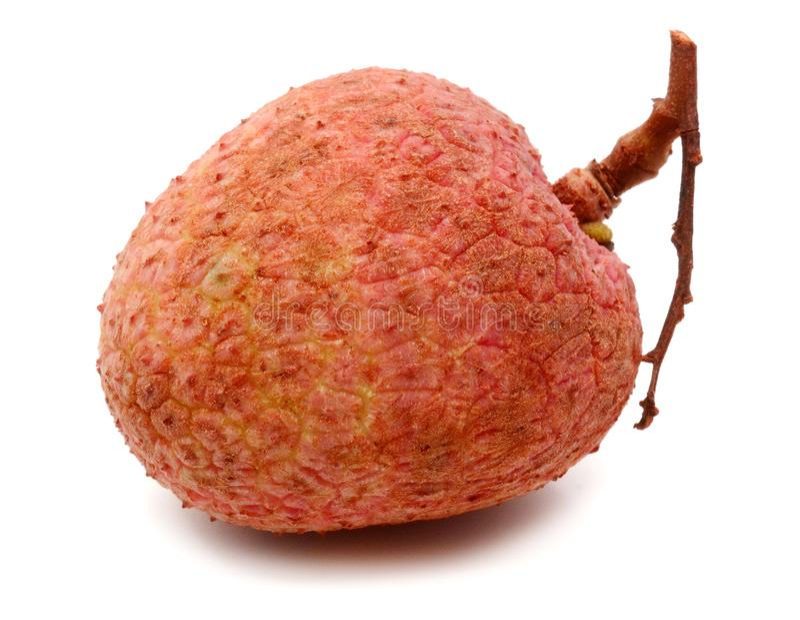 Frutta del litchi Striscia, succosa fotografie stock
