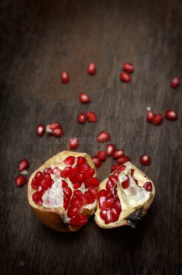 Frutta del melograno fotografie stock libere da diritti