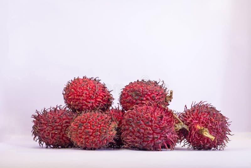 Frutta deliziosa dolce del Rambutan immagini stock libere da diritti