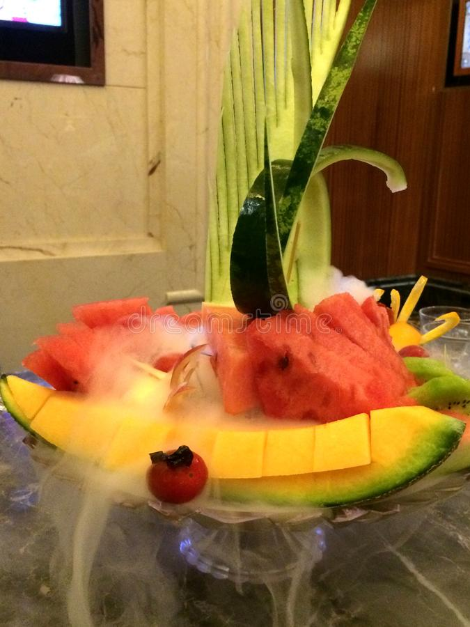 Frutta dell'anguria fotografie stock libere da diritti