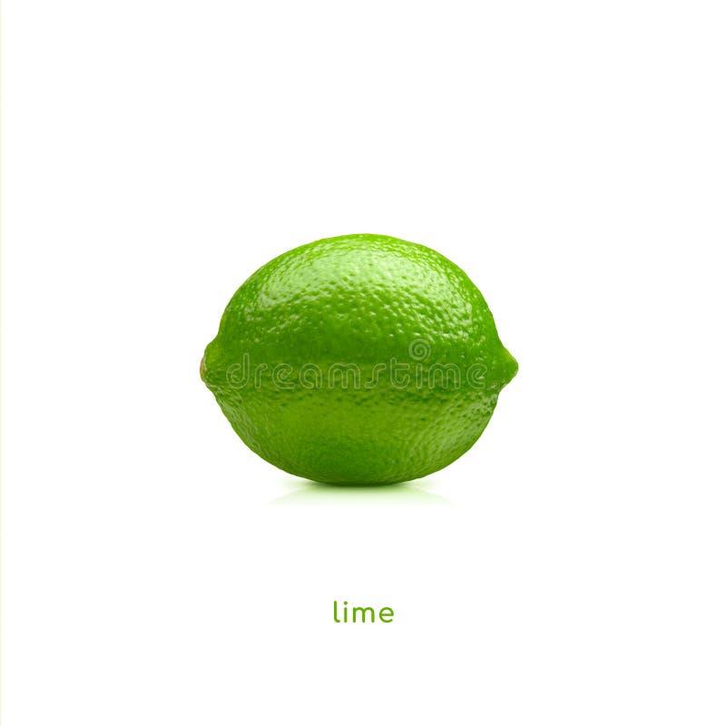 Frutta della calce fotografia stock