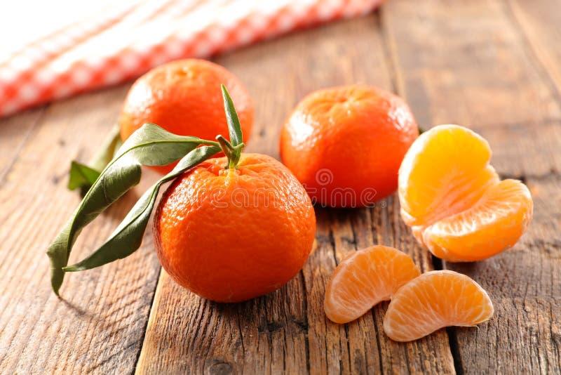 Frutta della clementina fotografie stock
