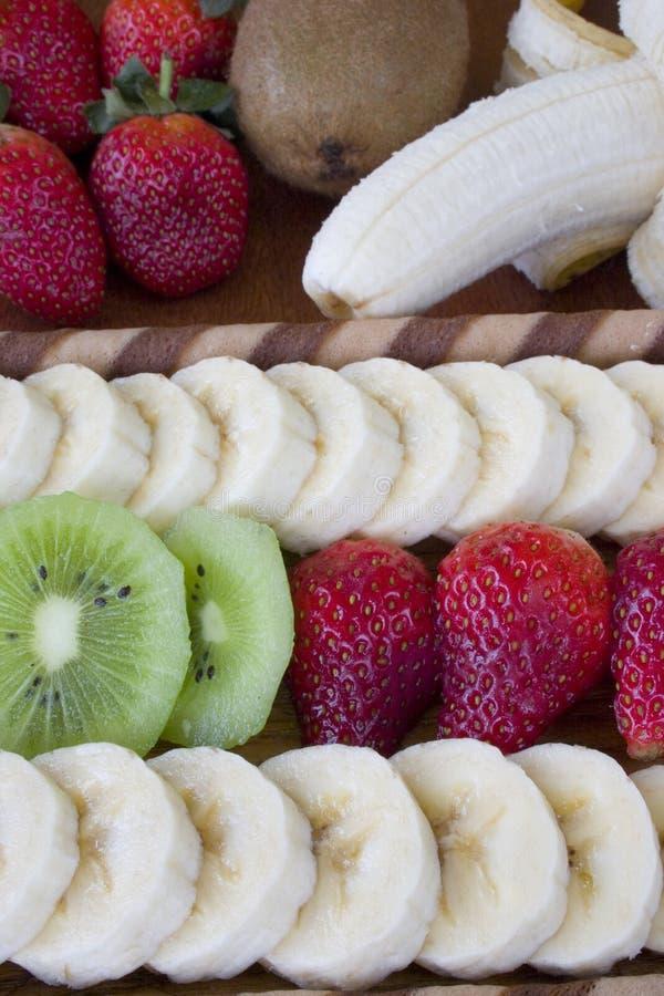 Frutta della fetta fotografia stock