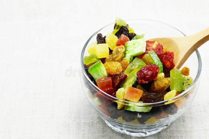 Frutta della miscela secca immagine stock
