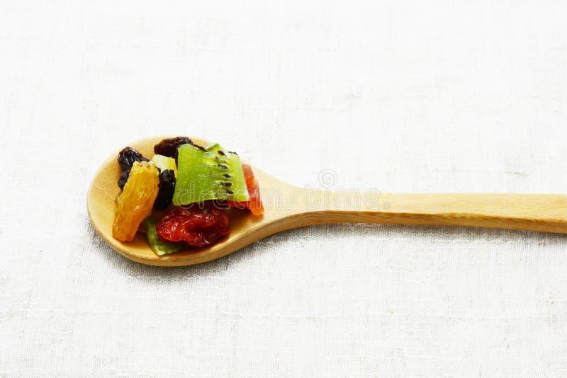 Frutta della miscela secca fotografie stock