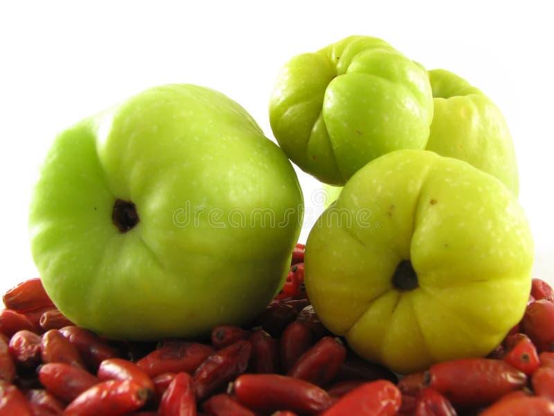 Frutta delle cotogne fotografia stock