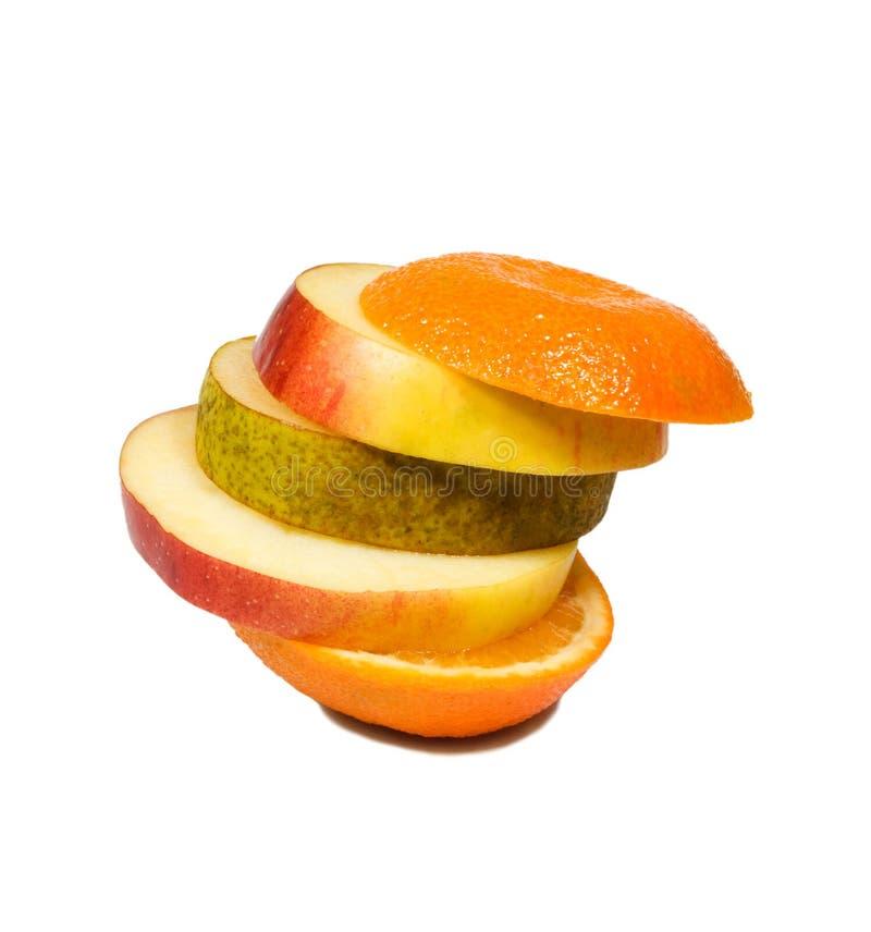 Frutta delle fette fotografia stock