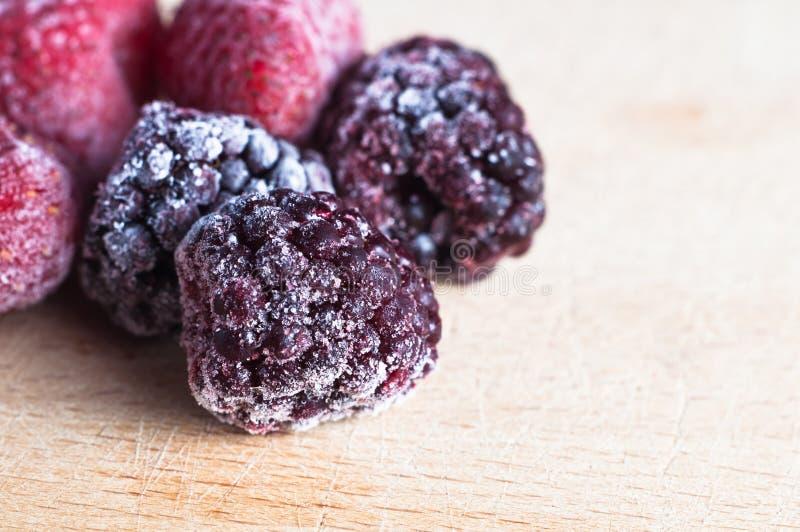 Frutta di bacca congelata fotografie stock