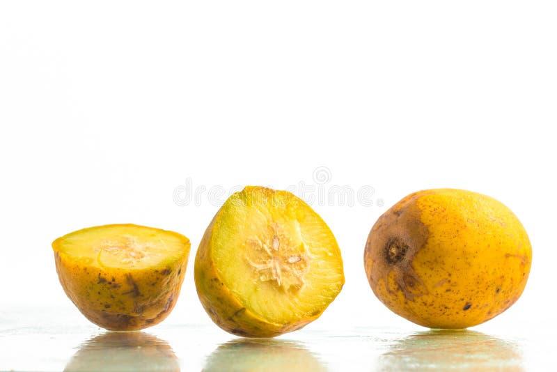 Frutta di Caja-manga Spondias dulcis fotografia stock