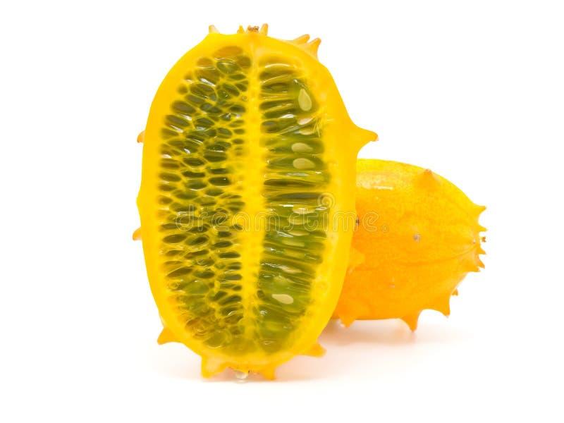 Frutta di Kiwano fotografia stock