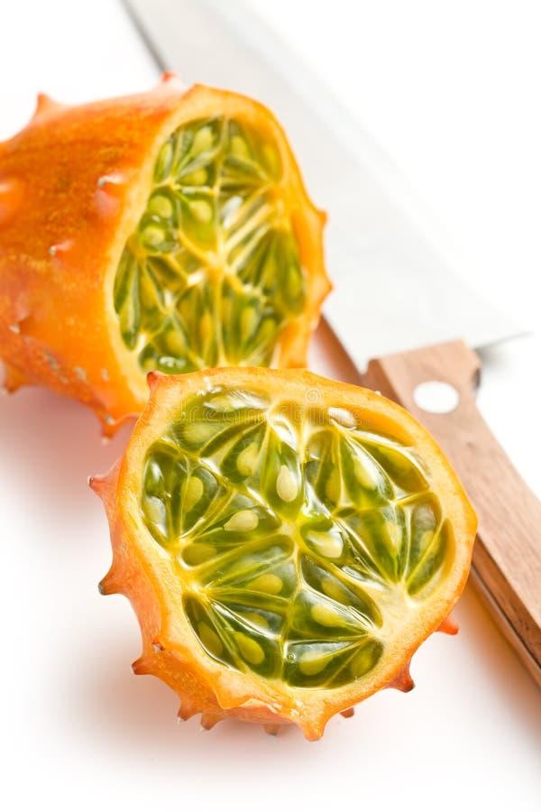 Frutta di Kiwano fotografie stock