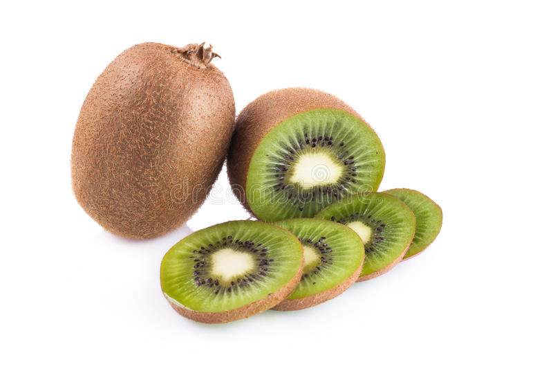 Download Frutta Di Kiwi Su Una Priorità Bassa Bianca Immagine Stock - Immagine di parte, ingrediente: 56883191