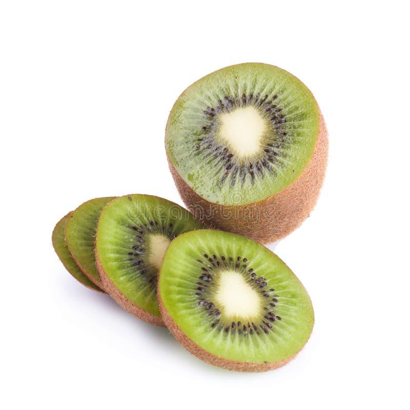 Download Frutta Di Kiwi Su Una Priorità Bassa Bianca Fotografia Stock - Immagine di mezzo, taglio: 56884320