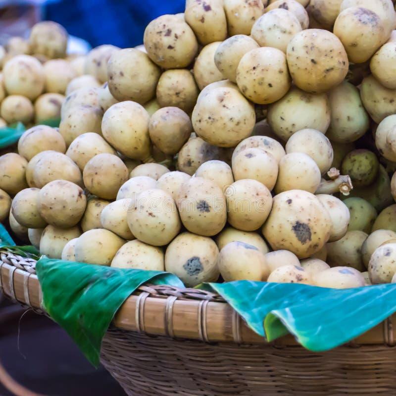 Frutta di Lansium immagini stock