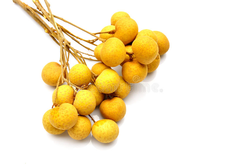 Frutta di Longan fotografia stock