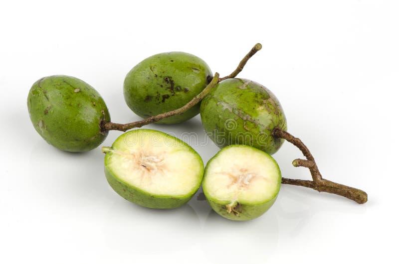 Frutta di spondias dulcis. fotografie stock libere da diritti