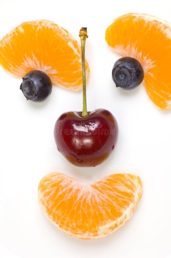 Frutta divertente fotografia stock libera da diritti