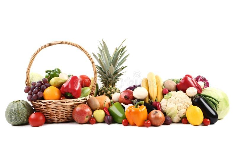 Frutta e verdure fotografia stock