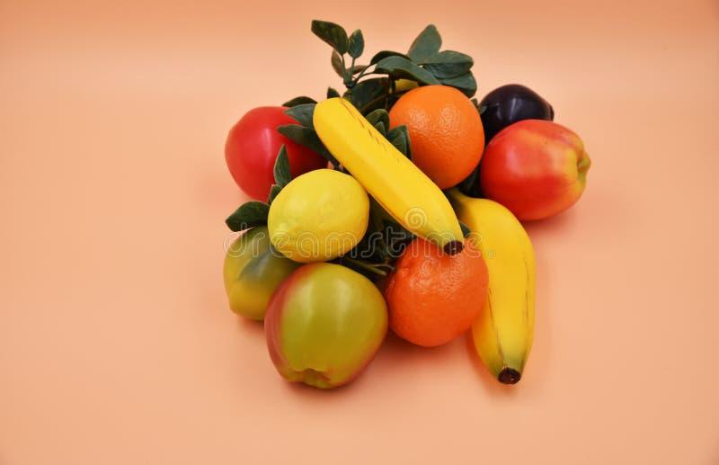 Frutta e verdure del Faux fotografie stock
