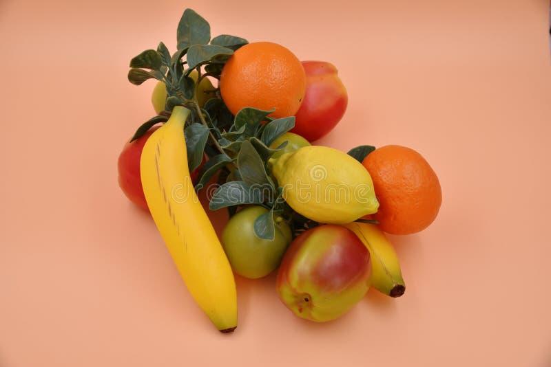 Frutta e verdure del Faux fotografia stock