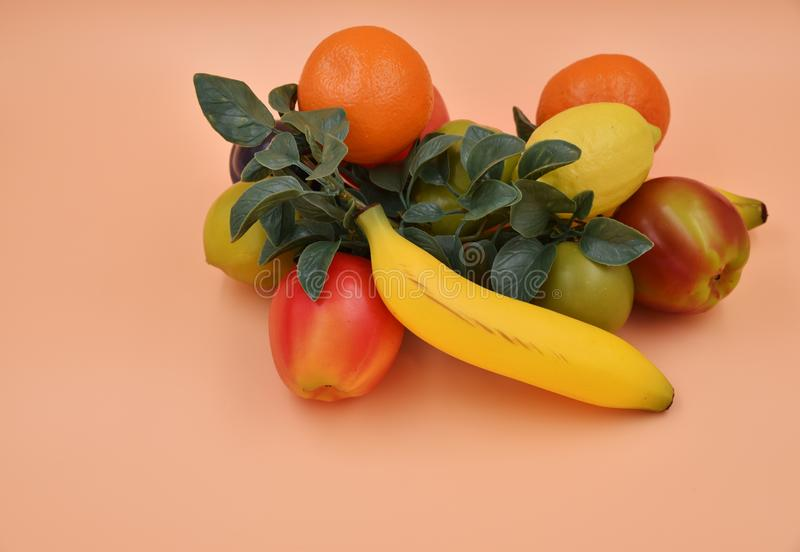 Frutta e verdure del Faux immagini stock libere da diritti
