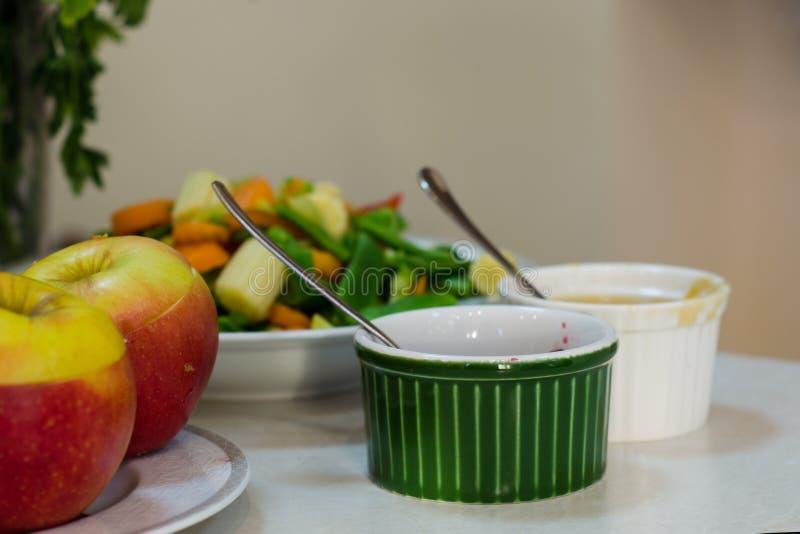 Frutta e verdure per alimento sano fotografia stock