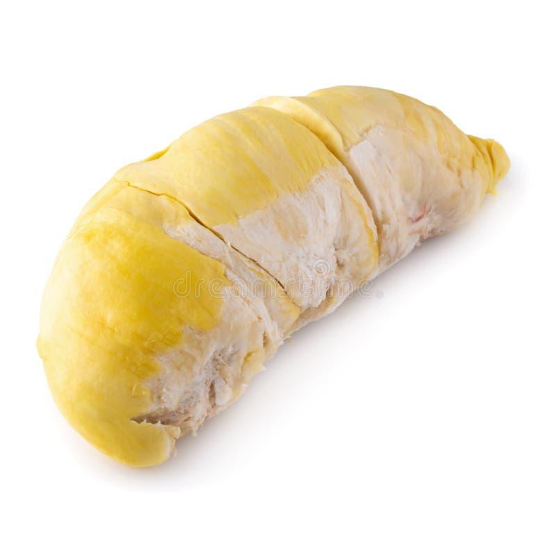 Frutta fresca del Durian isolata sopra fondo bianco immagine stock libera da diritti