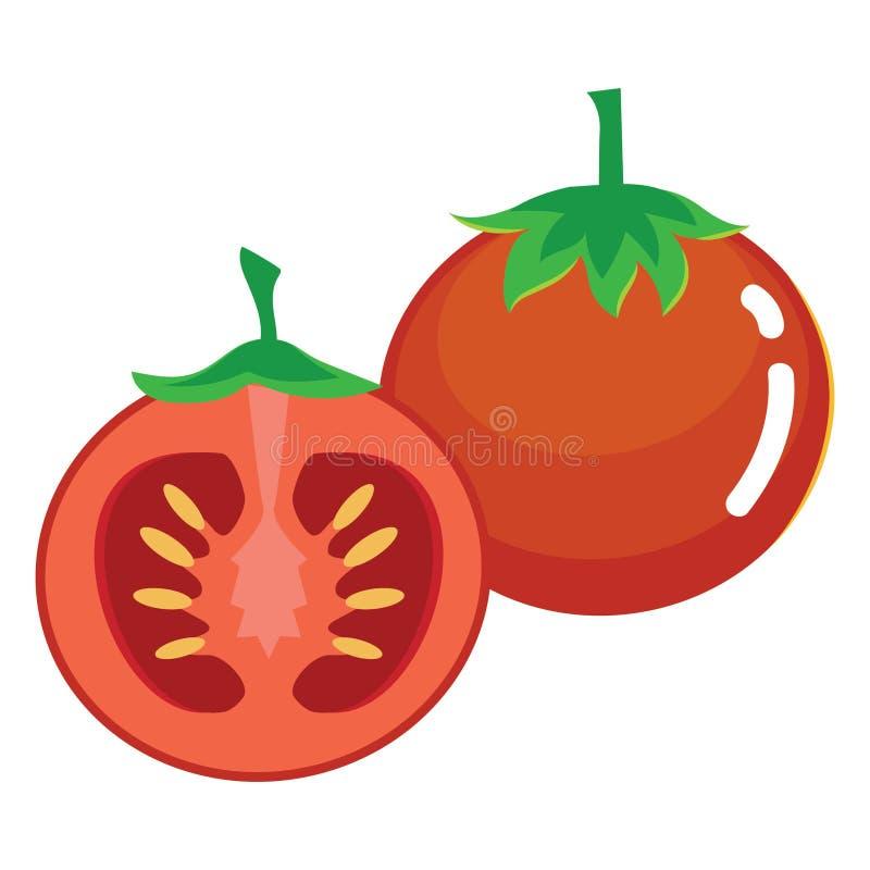Frutta fresca del pomodoro royalty illustrazione gratis