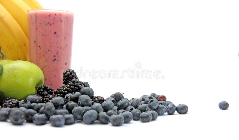 Frutta fresca mescolata Juice Smoothie immagine stock