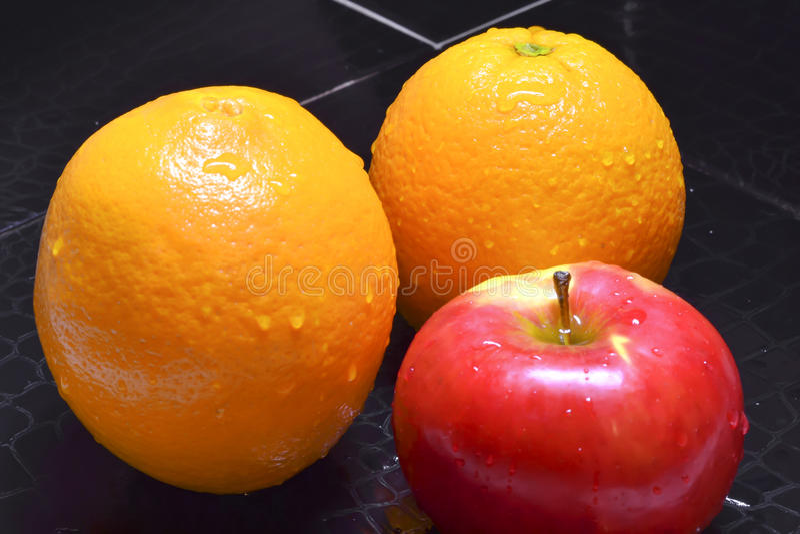 Frutta grezza fotografia stock