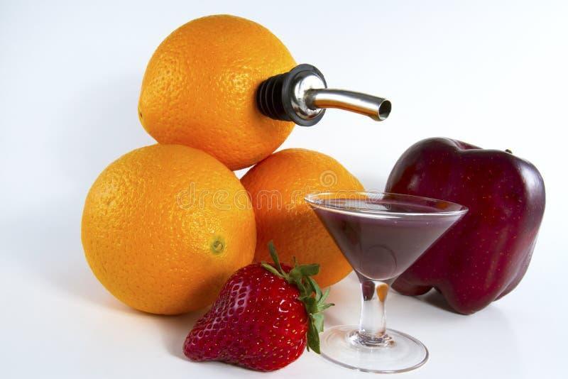 Frutta Juicing fotografie stock