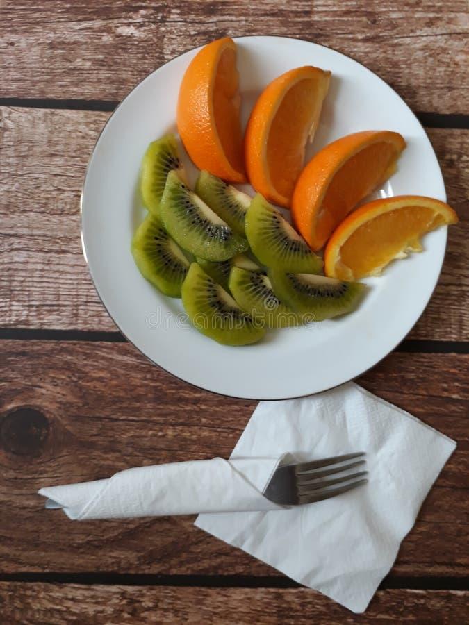 Frutta libera dell'antiparassitario dell'alimento sano fotografia stock