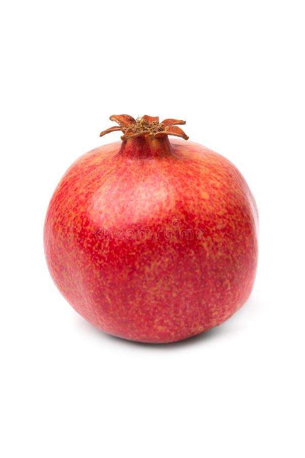 Frutta matura del melograno isolata fotografie stock libere da diritti