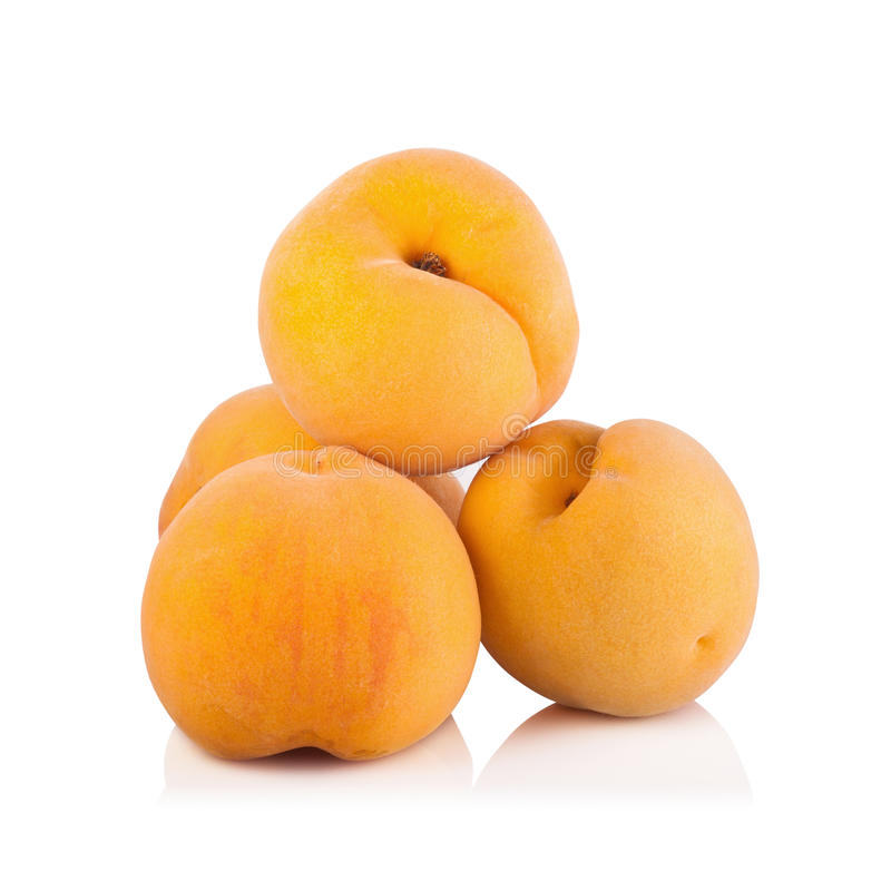Download Frutta Matura Della Pesca Isolata Su Fondo Bianco Immagine Stock - Immagine di intact, rosso: 56875735