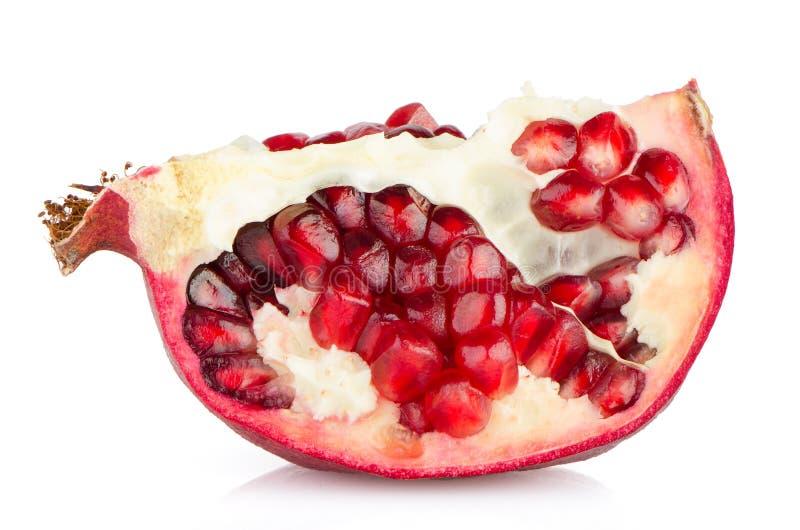 Frutta mezza del melograno immagine stock