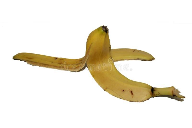 Frutta - pelle di banana immagini stock