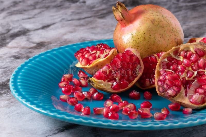Frutta Romã del melograno immagine stock libera da diritti