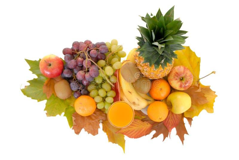 Frutta stagionale fresca fotografia stock libera da diritti