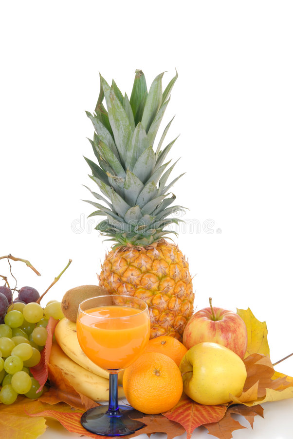 Frutta stagionale fresca fotografia stock